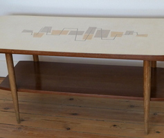 Lounge table - Teck & Formica
