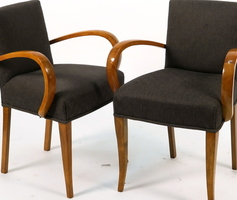 Pair of armchairs in cherry tree