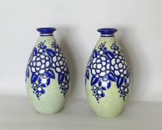 Pair of vases - Charles Catteau