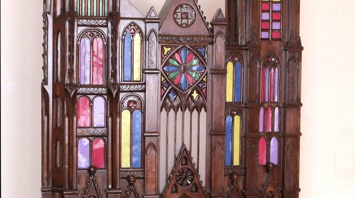 Bourges Cathedral - Model